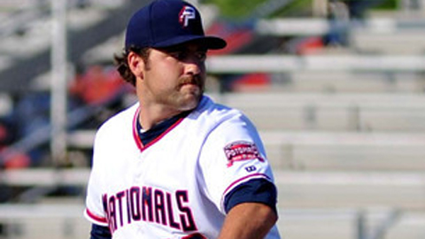 Nathan Karns is 5-2 with a 2.12 ERA in eight starts for the P-Nats this year.